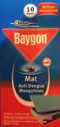 Baygon Mats 10 box