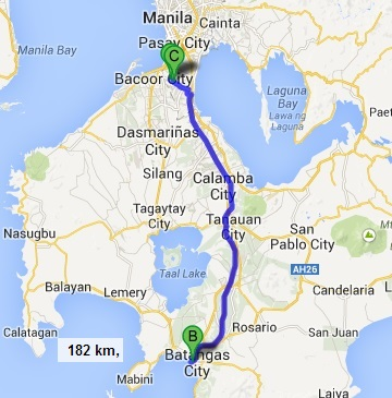 Batangas to Tagaytay  Philippines Information