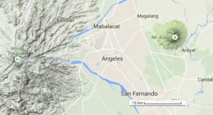 Mt Arayat, Mt Pinatubo, Angeles City