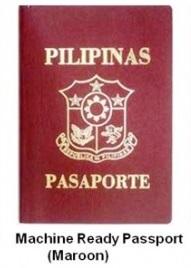 Philippines Passports Maroon