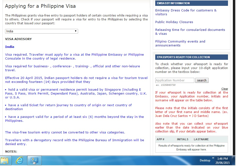 Indian Nationals entering the Philippines as Tourist ...