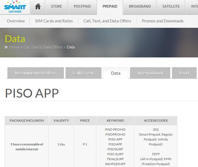 SMART PISO App